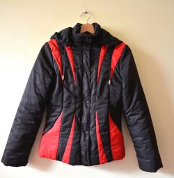 Warm women's jacket, 42-44 size