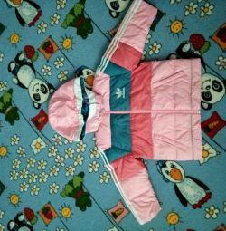 Зимова куртка adidas + штани і шолом