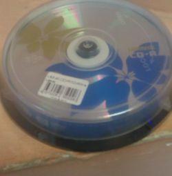 CD -R ( 10 штук )