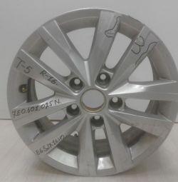 Wheeled disc E65JH2 Volkswagen Transporter T6 R16 (15>) oem 7e0601025 (scratches) (skl-3)