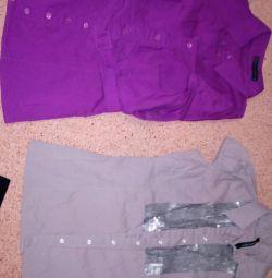 Блузки размер s-m