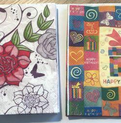 Χαρτοπετσέτες για δημιουργικότητα