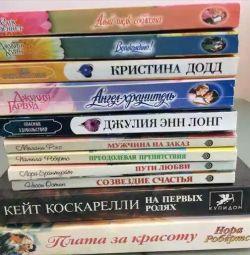 Books of different genres. Exchange.