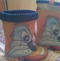 Резиновые сапоги Demar.