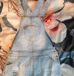 New denim overalls