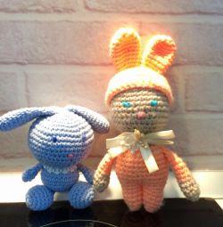 El yapımı tavşanlar