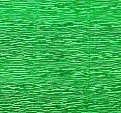 Бумага гофр. 50см*2,5м 180г/м2 цв.563 зеленая