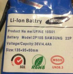 Baterii de acumulatori pentru giroskuterov