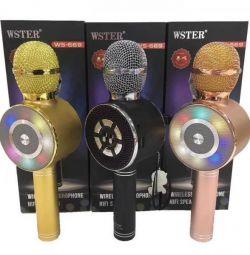 Караоке мікрофон бездротової ws-669