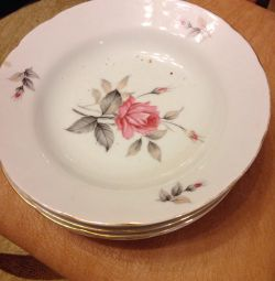 Plates china porcelain