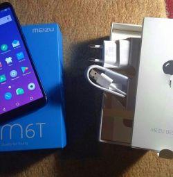 Νέο smartphone Meizu M6 T. Τρεις κάμερες.