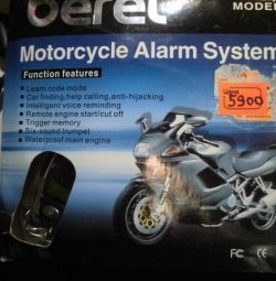 New motorcycle alarm Beret with feedback