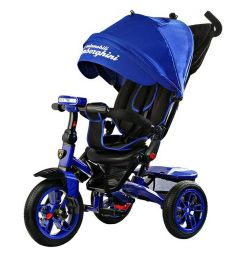 New Lamborghini L5 bicycle tricycle blue