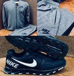 Spor ayakkabısı + eşofman Nike