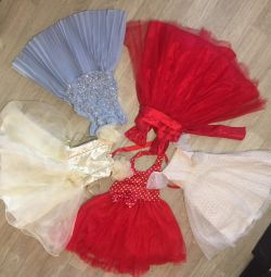 Elegant dresses for a girl of 3-5 years Next, Sweet Ber
