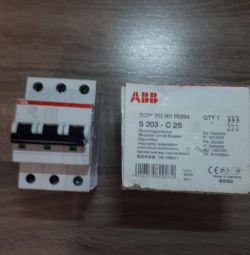 Comutator automat S203 -C25 ABB