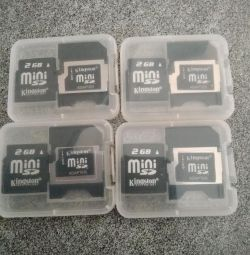 Kingston 2GB Memory Cards
