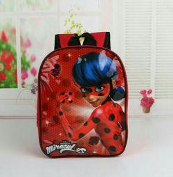 Sırt çantası hanımefendi böcek yeni