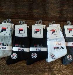 Socks man's Fila long