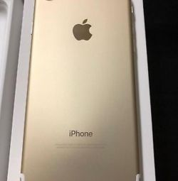 New iphone 7 (32gb), gold ?