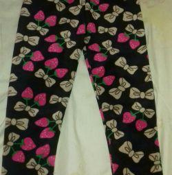 Pantaloni calde pentru fete