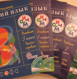 textbooks of the Russian language
