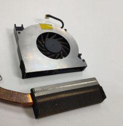 Кулер і мідний радіатор F5N система охолодження