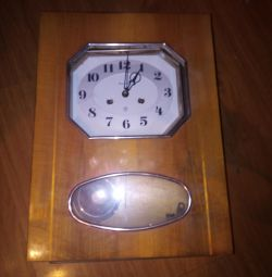 Wall clock Amber of the USSR