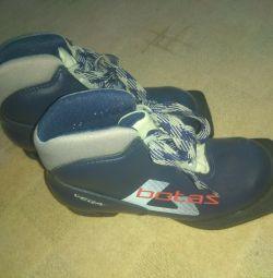 Ботинки лыжные 33 р
