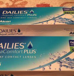 Lentile Dailies Aqua Comfort Plus -3 Radius8,7