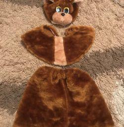 Новорічний костюм ведмідь