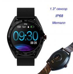 🔥 Smart Watch Senbono K7 IP68 Metal New