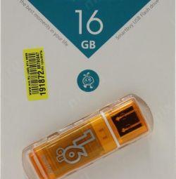 USB stick USB 2.0 16Gb SmartBuy Glossy
