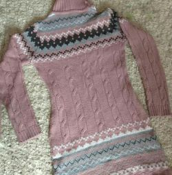 Jumper tricotat lung