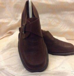 pantofi din piele pentru bărbați econika