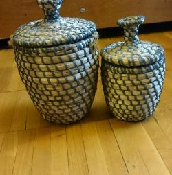 Basketware wicker baskets