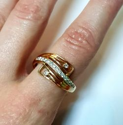 Ring. 585 gold sample