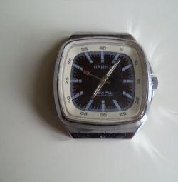 Часы Чайка СССР Кварц на запчасти