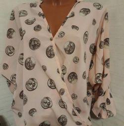 Новая стильная рубашка oversize