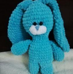 Handmade plush bunny