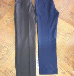 Pantalonii mananca. Clasic.
