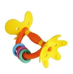 Pigeon Teether Rattle