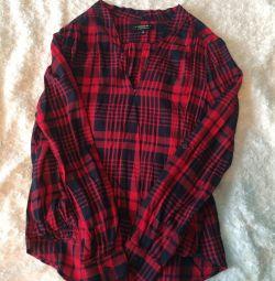 Новая рубашка/блузка cotton