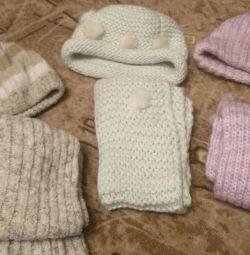 Комплекти шапка і шарф