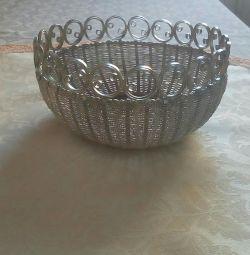 Cupcake holder from cupronickel.