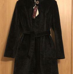 Пальто под норку