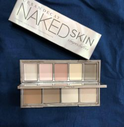 Naked skin for contouring