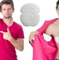 Căptușeală pentru haine din sudoare