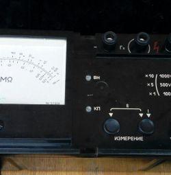 Megohmmeter f 4102 / 1-1M
