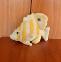 Soft toy-fish